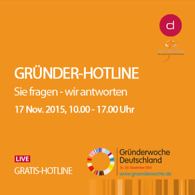 Gründer-Hotline