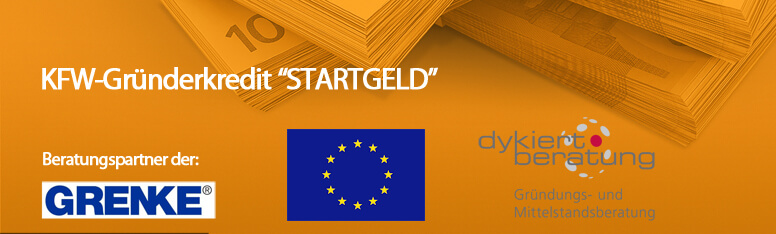 """KfW-Gründerkredit """"StartGeld"""""""
